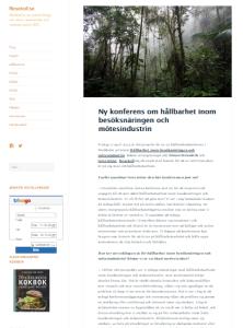 Artikel, Simon Strandvik, Resekoll, den 8 april 2015