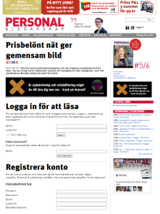 Artikel med Karin Falkeström i Personal och Ledarskap den 29 mars 2016