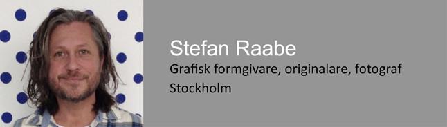 Stefan Raabe, grafisk formgivare, Seniorkonsult Direkt