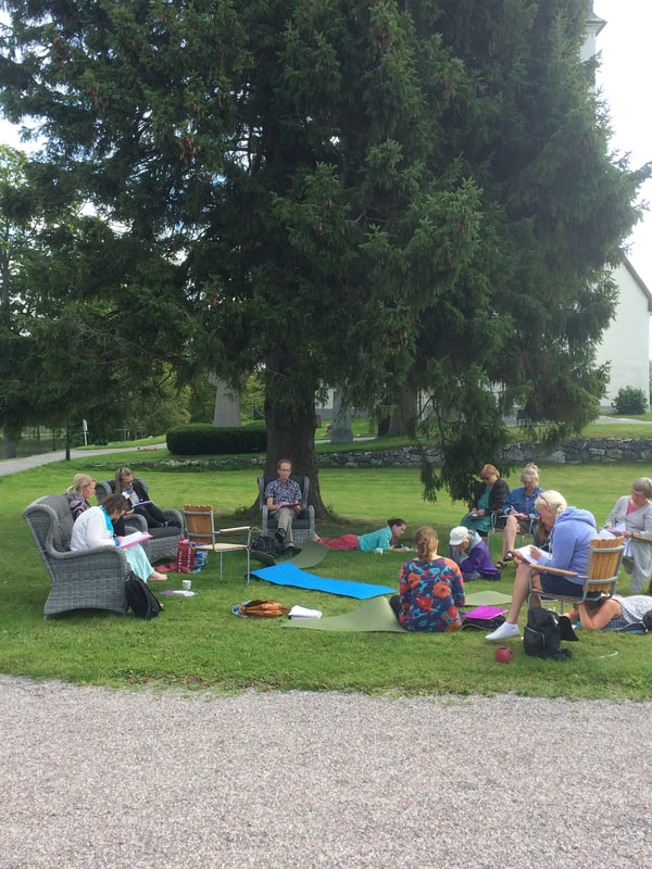 Skrivarkurs, Lust att skriva i sommar, 12-15 aug, Gnesta