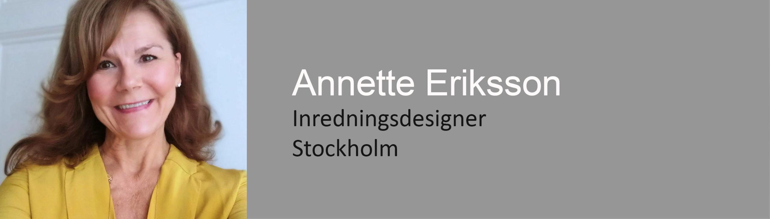 Inredningsdesigner